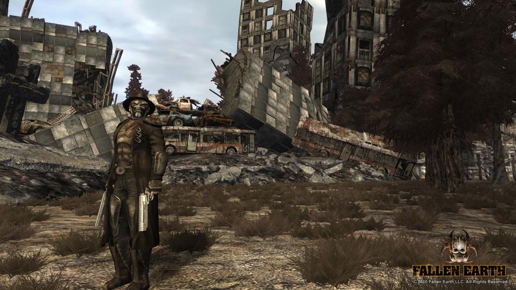 Fallen Earth - Gameplay Screenshot