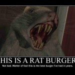 Rat Buger - Motivational Poster