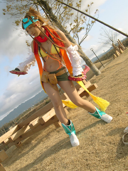 Rikku Cosplay - Final Fantasy Cosplay