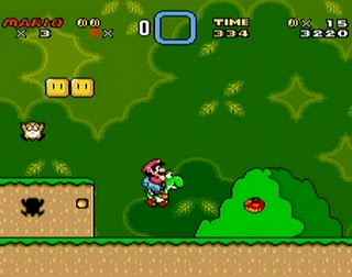Super Mario World - Gameplay Screenshot