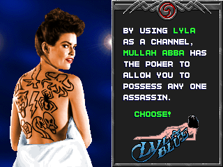 Tattoo Assassins - Lyla Character Screen