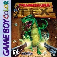 Tyrannosaurus Tex - Gameboy Color Box