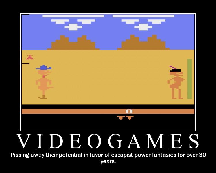 videogames - Motivational Poster
