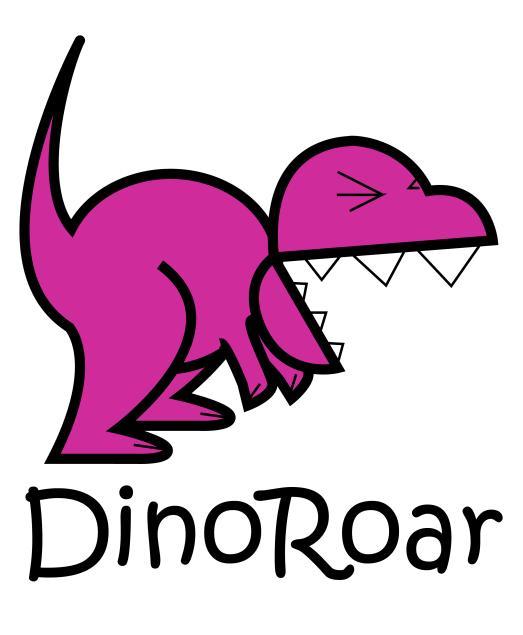 dinoroar interactive logo