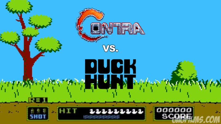 Contra-vs--Duck-Hunt
