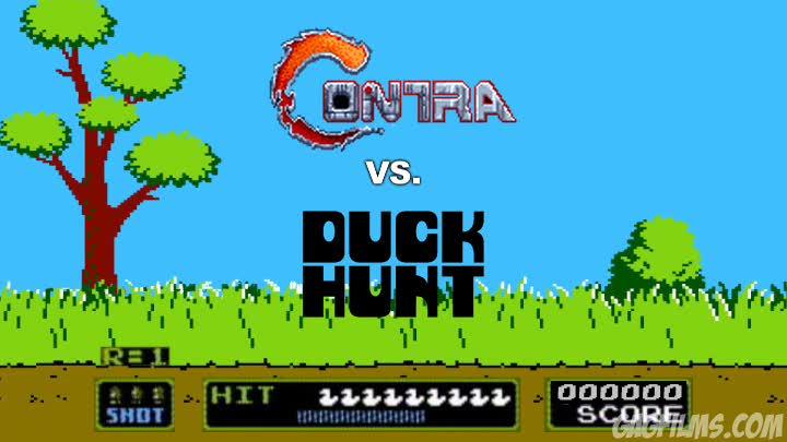 Contra-vs--Duck-Hunt