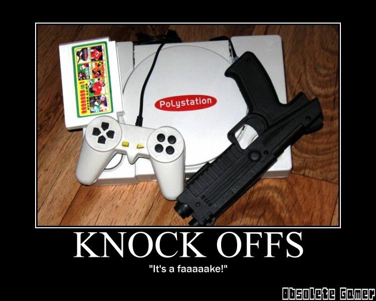 Knock offs - Motivational Poster