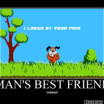 mans best friend - duck hunt - Motivational Poster