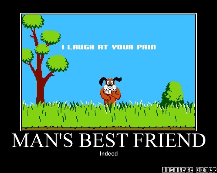 mans best friend - duck hunt - Motivational Poster
