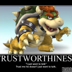Truthworthiness - Motivational Poster
