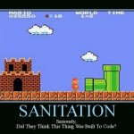 sanitation mario - Motivational Poster