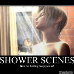 Shower Scene - Motivational Poster