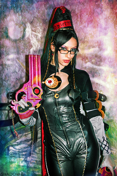 Shadow - Bayonetta Cosplay 4