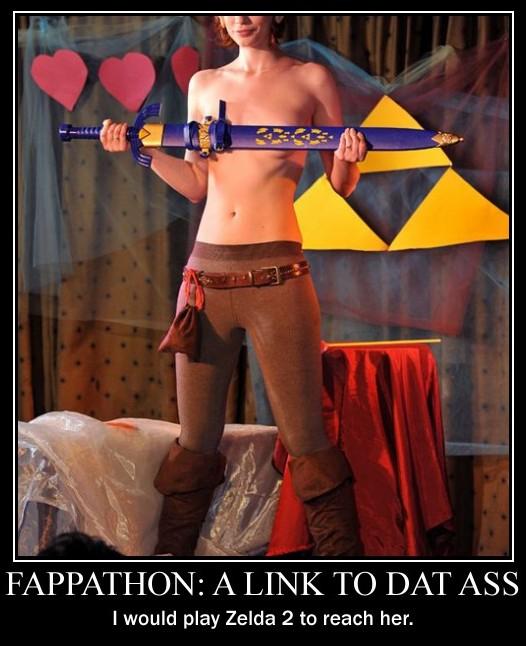 A Link to dat ass - Motivational Poster