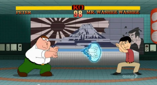 Family Guy Street Fighter 2