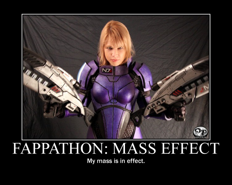 Fappathon - Mass Effect Motivational Poster