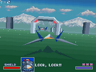 Star Fox - Gameplay Screenshot