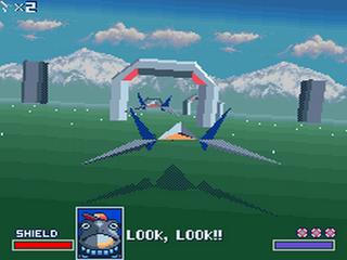 Star Fox - Gameplay Screenshot