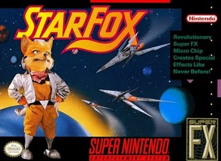 Star Fox- SNES Box