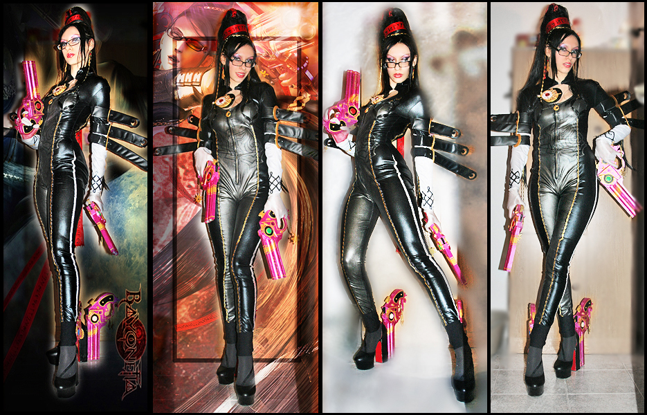 Shadow - Bayonetta Cosplay 6