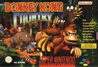 Donkey Kong Country - SNES Box