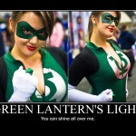 Fappathon: Green Lantern's light