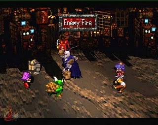 Saga Frontier - Gameplay Screenshot 1