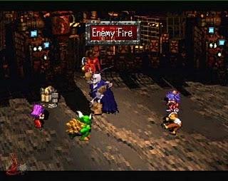 Saga Frontier - Gameplay Screenshot 1