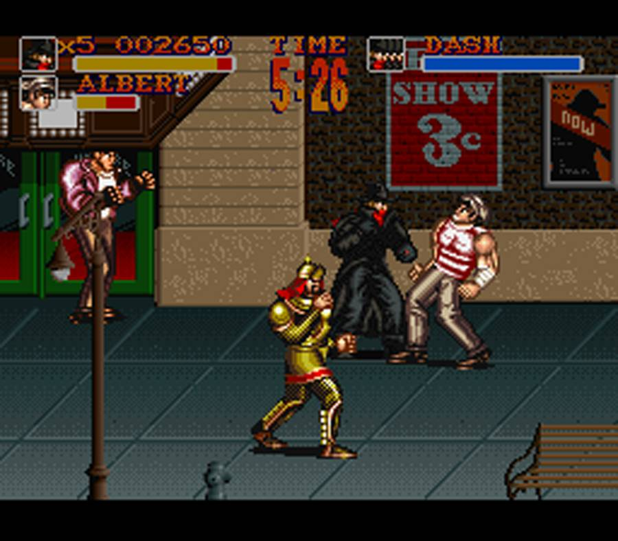 The Shadow - Super Nintendo - Gameplay Screenshot
