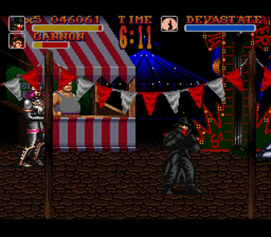The Shadow - Super Nintendo - Gameplay Screenshot