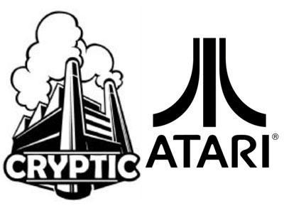 Atari and Cryptic Logo