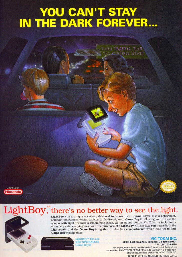 Light Boy ad