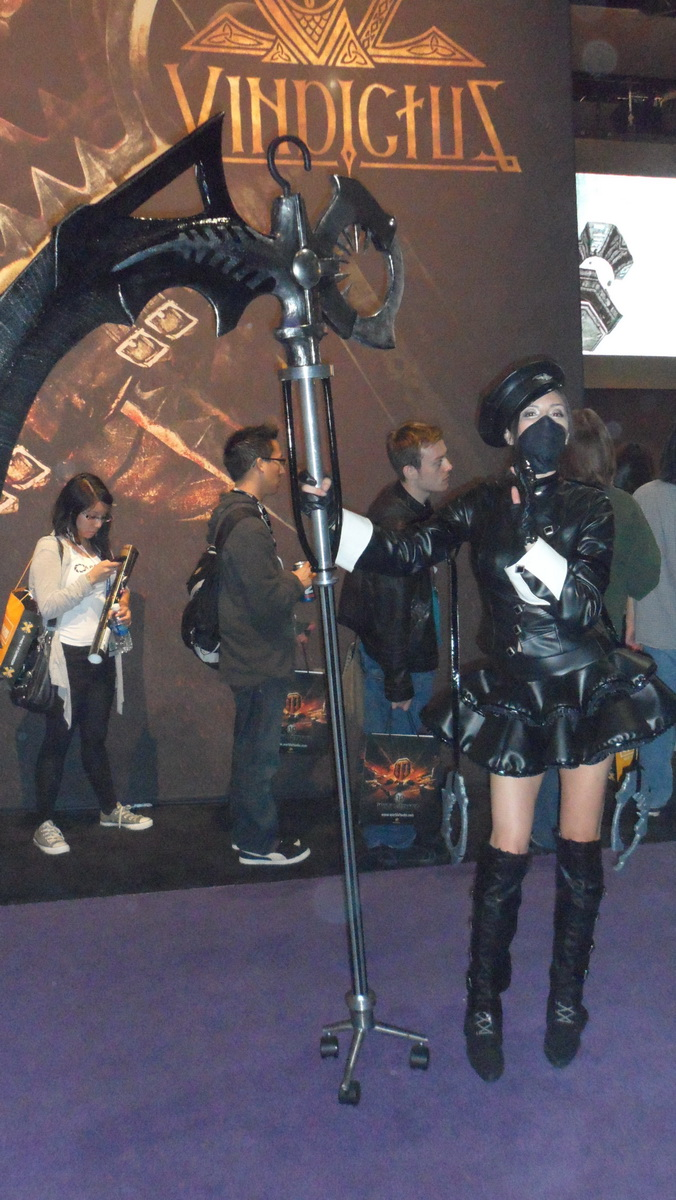 Cosplay & Booth Babes from E3 2011