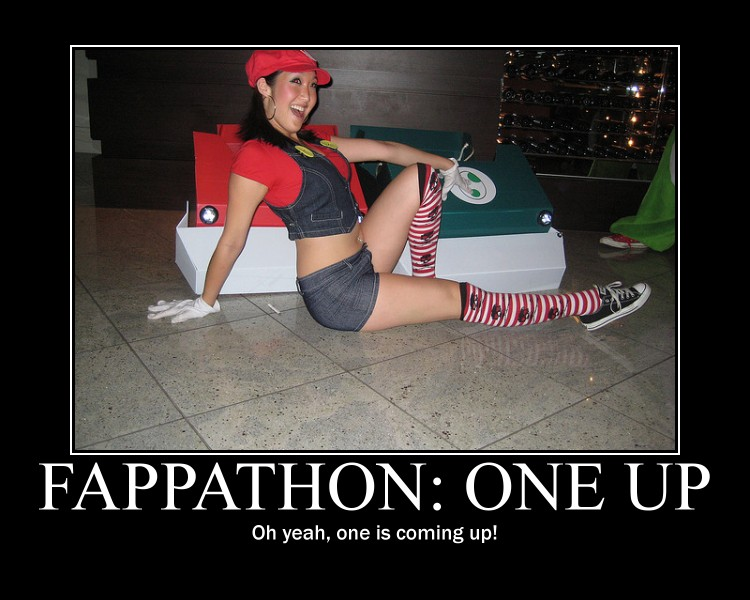 Mario Cosplay Motivational Poster