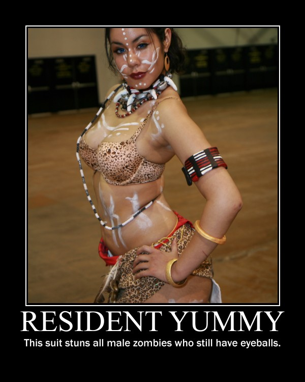 Resident Yummy - Motivational Poster