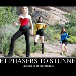 Star Trek Cosplay - Motivational Poster