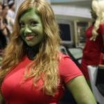 Star Trek Cosplay - Orion Slave Girl