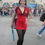 Star Trek Cosplay - Red Dress IV