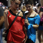 Star Trek Cosplay - Red and Blue