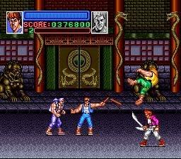 Super Double Dragon - Super Nintendo Entertainment System