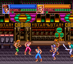 Super Double Dragon - Super Nintendo Entertainment System