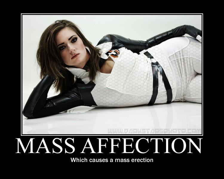 Mass Affection - Motivational Poster