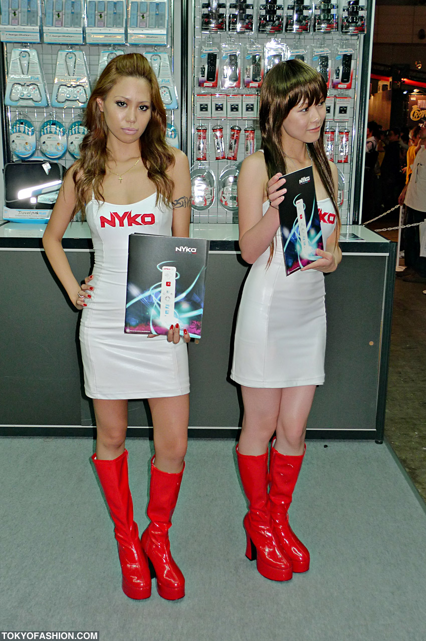 Video Game Booth Babes