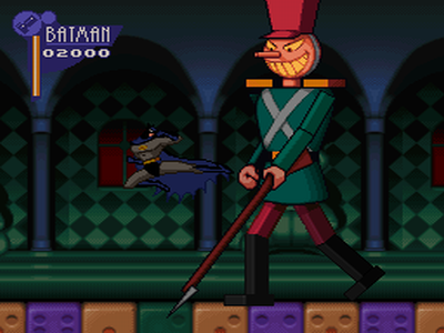 The adventures of Batman and Robin - SNES - gameplay screenshot 1