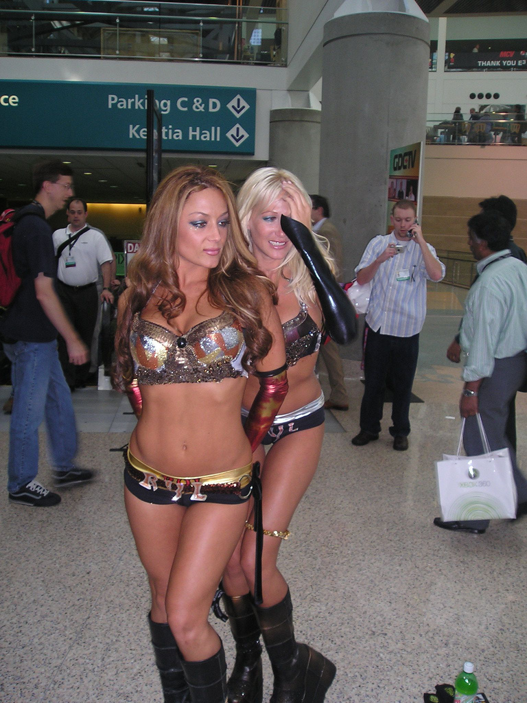 Fappathon - Booth Babes
