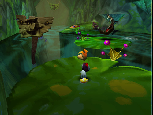 Rayman 2 - The Great Escape - Sega Dreamcast - Gameplay Screenshot