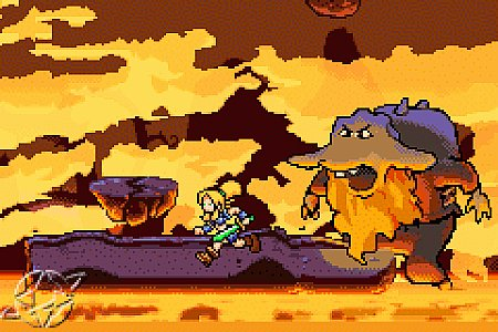 Lady Sia - Gameboy Advance
