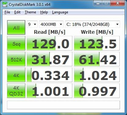 CrystalDiskMark ST330006 51AS