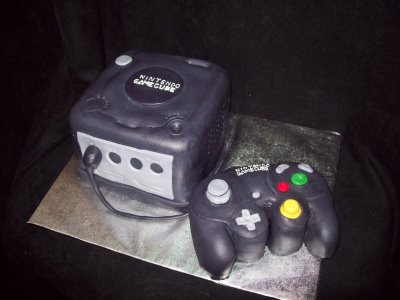 Gamecube Cake