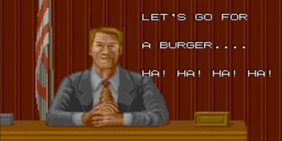 Ronald Reagan Bad Dudes